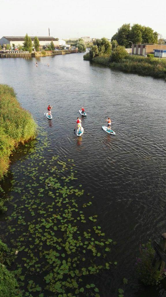 suppen is een sportieve activiteit voor groepen in Breda